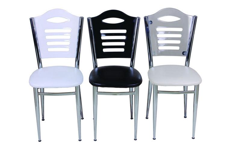 Cilalı Ahşap Cafe Sandalyesi